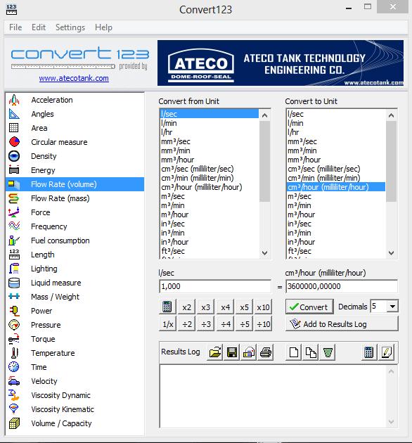 Ateco Convert 123