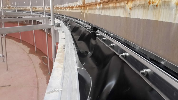 Floating Roof Seal Project 187 Ateco Tank