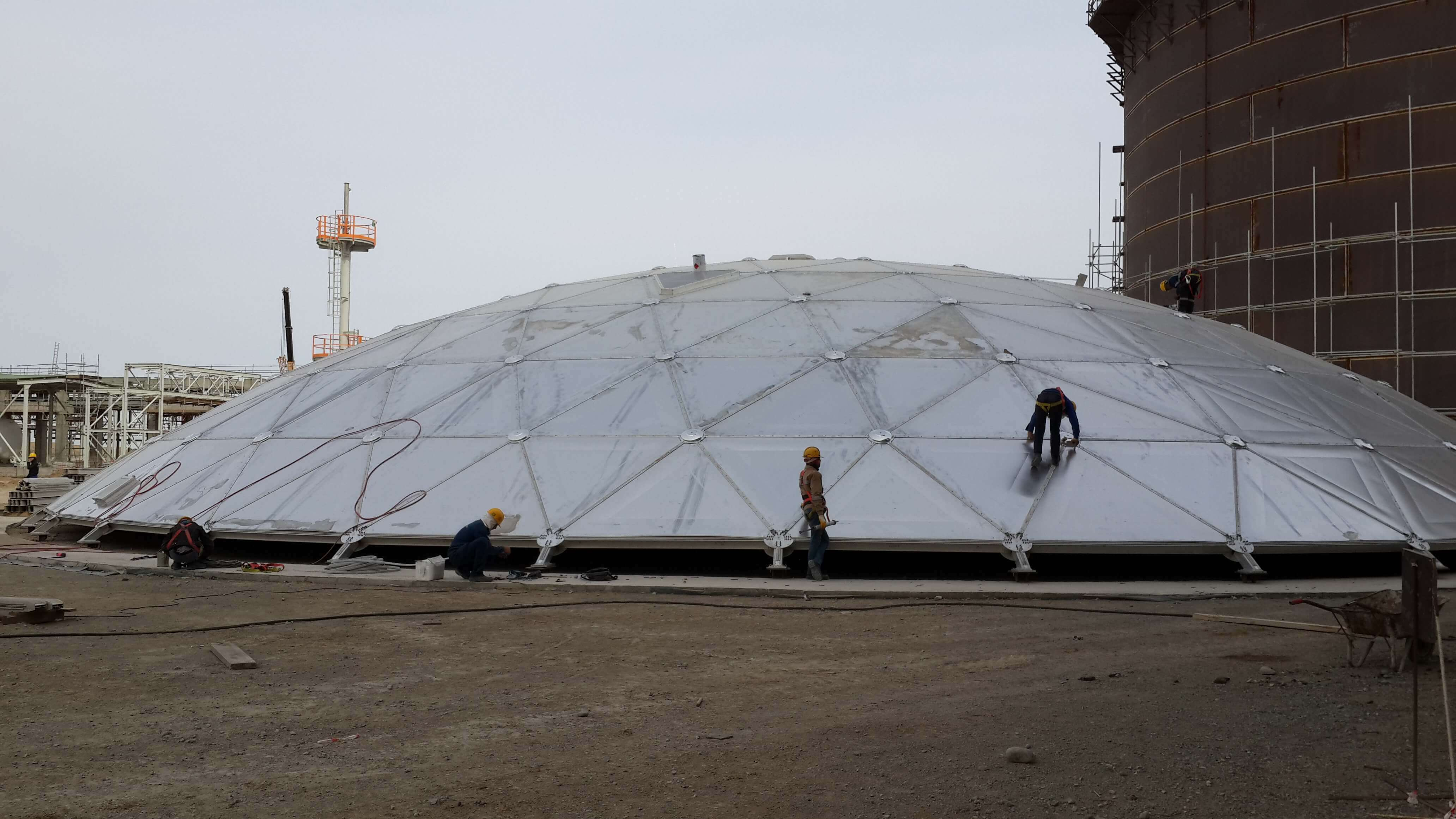aluminium-geodesic-dome-roof-9