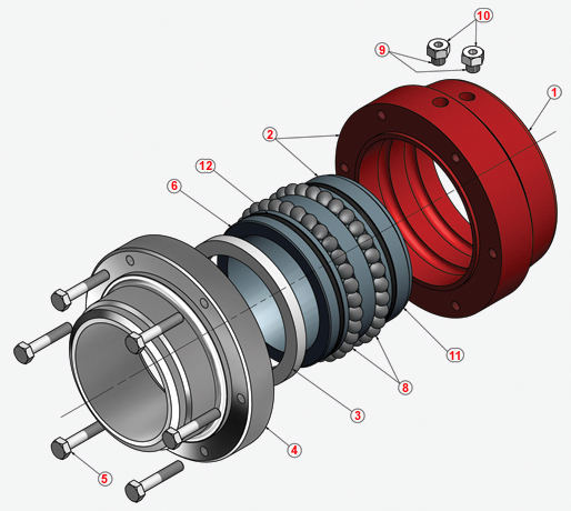 Swivel Joint Roof Drain System