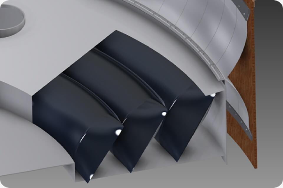 Pontoon Air Bag Diafram