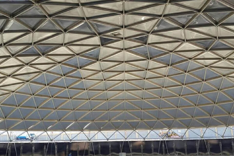 Geodesic Dome Roof Ateco Tank